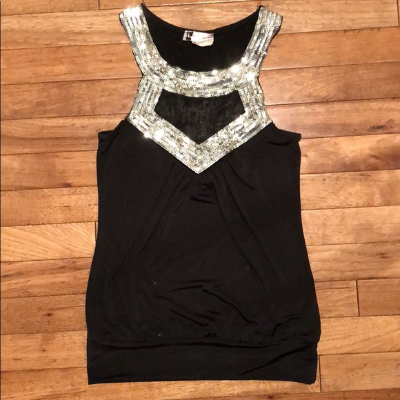 Body Central Tops - Black shirt